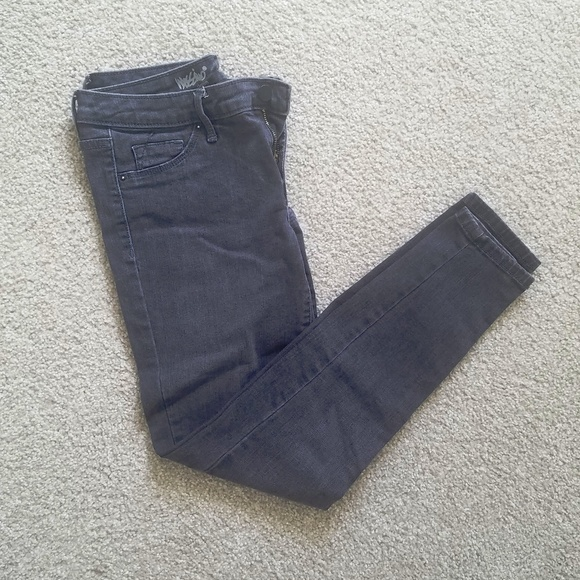 Mossimo Supply Co. Denim - Mossimo faded black jeans worn once size 4/27